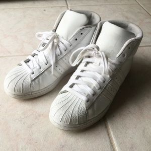 All White Pro Model Adidas